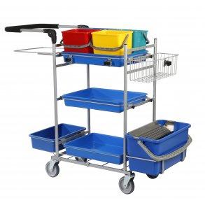 Rengøringsvogne og tilbehør